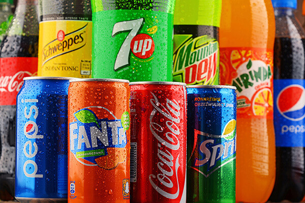 worst food soft and sports drinks